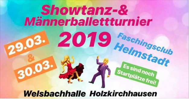 Showtanz-Turnier in Helmstadt @ Welsbachhalle